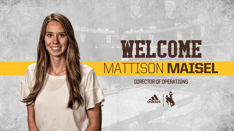Mattinson Tabs Mattison Maisel for Director of Operations of Cowgirl Basketball - Women's Hoop Dirt