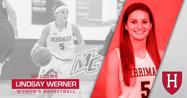 Werner named Assistant Women's Basketball Coach at Harvard - Women's Hoop Dirt