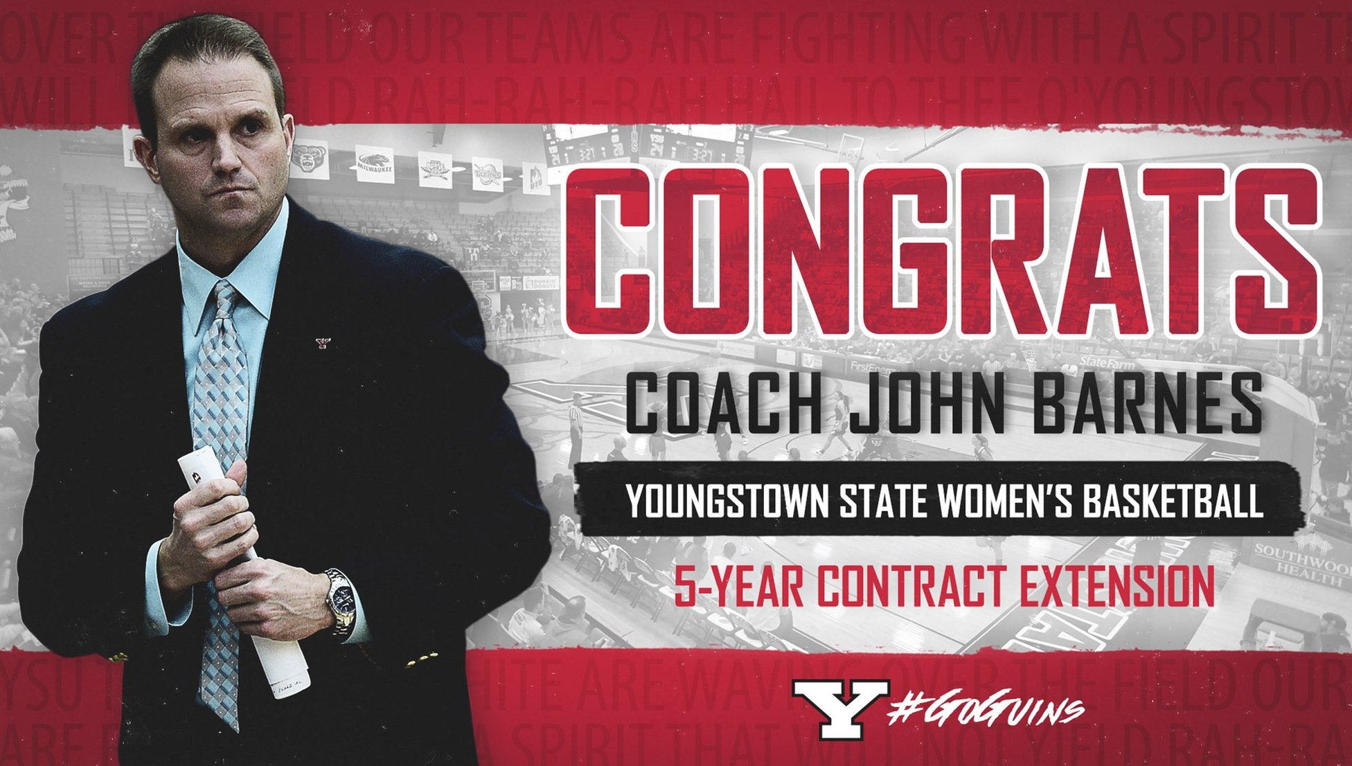 Barnes, YSU Agree to Five-Year Contract Extension - Women's Hoop Dirt