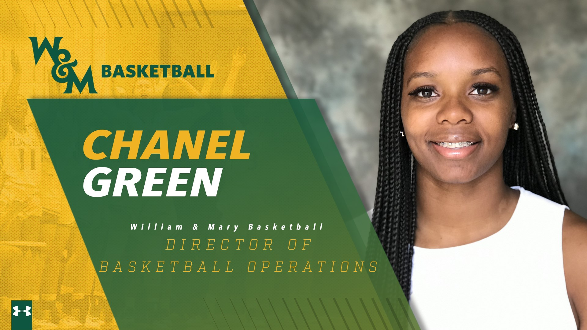 William & Mary Announces Hiring of Chanel Green as Director of Basketball Operations - Women's Hoop Dirt
