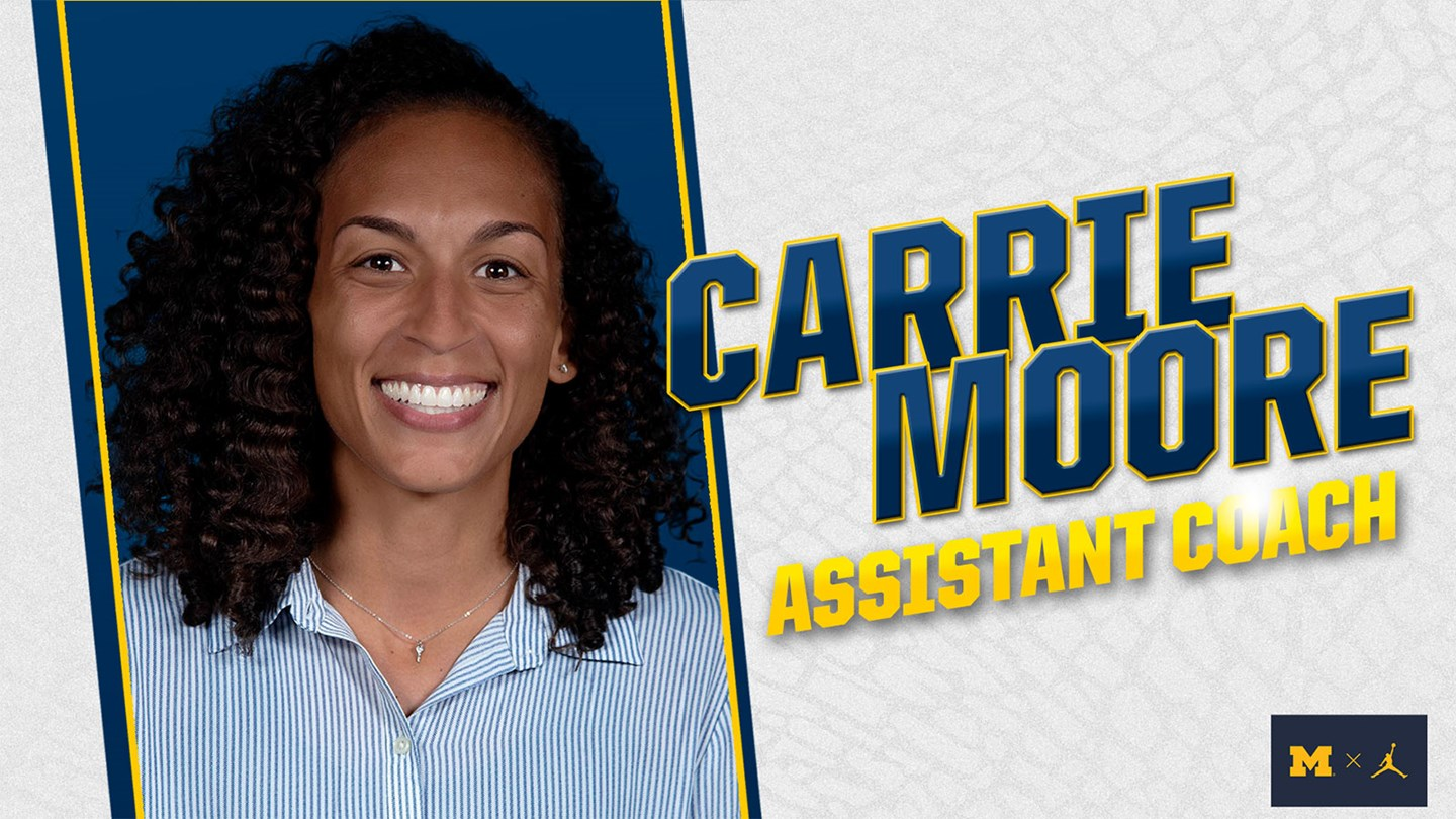 Moore Added to Michigan Staff as Assistant Coach - Women's Hoop Dirt